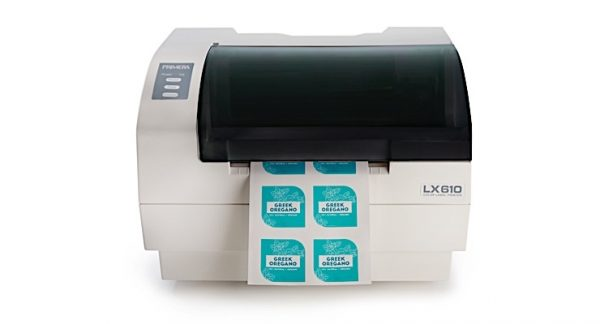LX610e - Цветен принтер за печат на етикети с вграден плотер