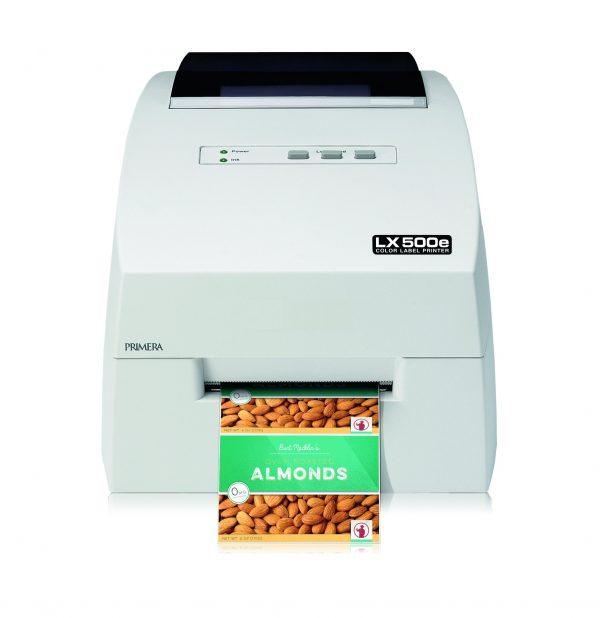 LX500e Цветен принтер за етикети