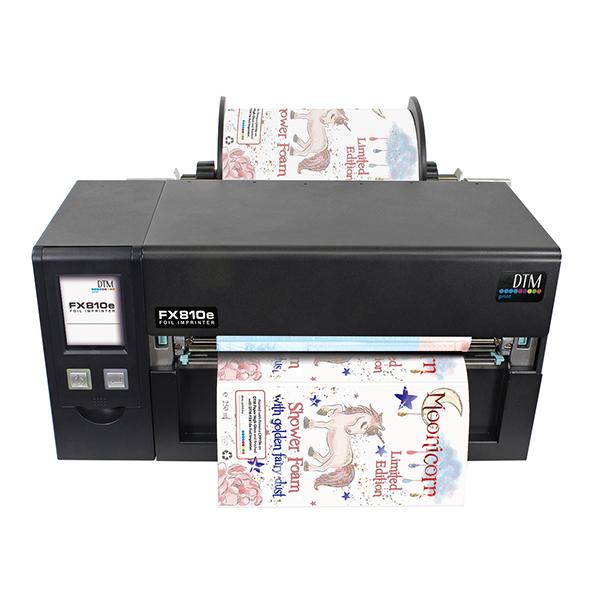 FX810e Индустриален фолио принтер