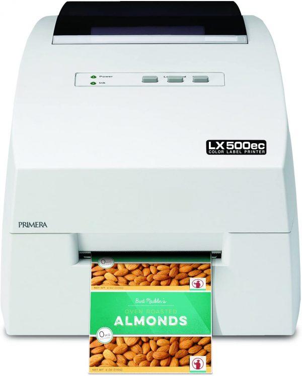 LX500ec цветен принтер за печат на етикети с режещ нож