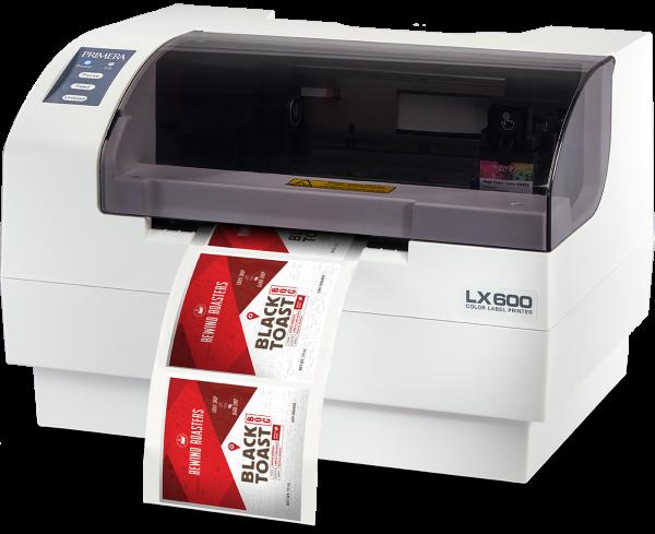 LX600 - Цветен принтер за етикети