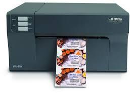 LX910e - Цветен принтер за печат на етикети